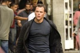 ภาพ แม็ต เดมอน ใน The Bourne Identity